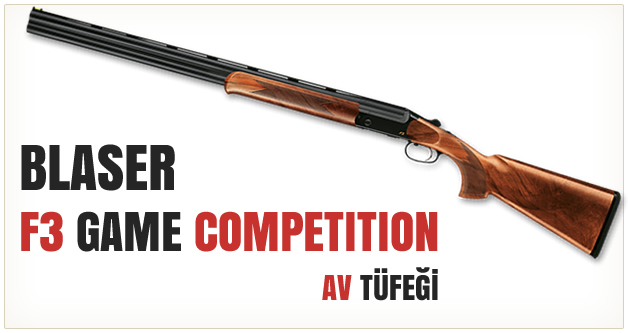 Blaser F3 Game Competition Av Tüfeği